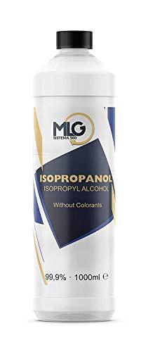 Alcohol Isopropílico 99,9% 1000ml | IPA de Limpieza | Ideal para limpieza para componentes electrónicos