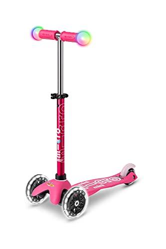 Micro Mini Deluxe Magic Scooter: Rosa
