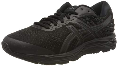 Asics Mens 1011A568 Running Shoe, black, 46.5 EU