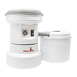 Powerful Electric Grain Mill Grinder for Home and Professional Use - High Speed Electric Flour Mill Grinder for Healthy Grains and Gluten-Free Flours - Electric Grain Grinder Mill by Wondermill (B000CPJKWC) | Amazon price tracker / tracking, Amazon price history charts, Amazon price watches, Amazon price drop alerts