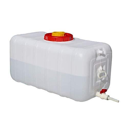 HWhome 100L Grande Capacité Réserve d'eau des Conteneurs Réservoir pour Camping Rectangle Épaissir Ménage Seau De Stockage d'eau ~ 20 ° ~ +70 ° pour Randonnée Chasse Voyage(100L/150L/200L/300L)