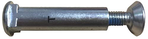 Rollerblade Achse mit Innenvierkant für Composite-one-Piece-Schienen, Länge 31,5 mm, Ø 8 mm (kurz)