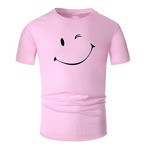 N\P Simple Line Art Neck Camisa de algodón hombres y mujeres unisex verano