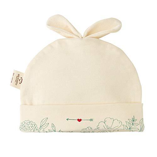 Sombrero de bebé sección Delgada algodón recién Nacido Sombrero de bebé Masculino y Femenino 0-3 Meses Tapa fetal arroz 44 cm (3-6 Meses)