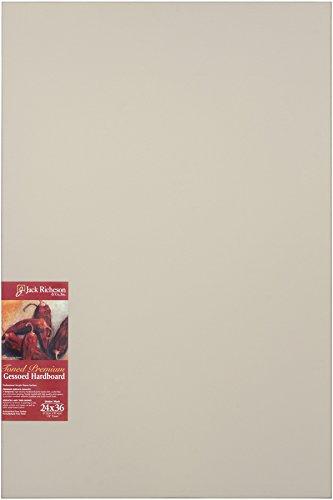 Jack Richeson Richeson Umber Wash Gessoed 1/8' Hardboard 24'x36'