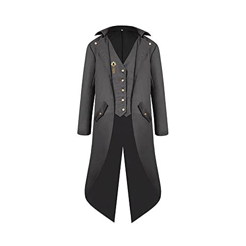 Disfraz de Cosplay de la era de la regencia, Abrigo Vintage para Hombre, Abrigo renacentista de Manga Corta para Mujer, Vestido con Accesorios