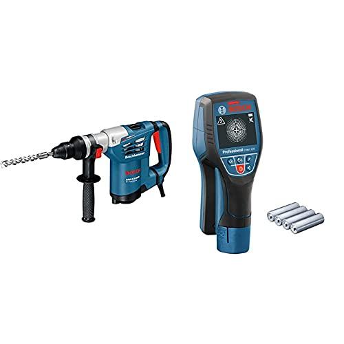 Bosch Professional Martillo perforador combinado GBH 4-32 DFR + Bosch Professional Detector de pared D-tect 120