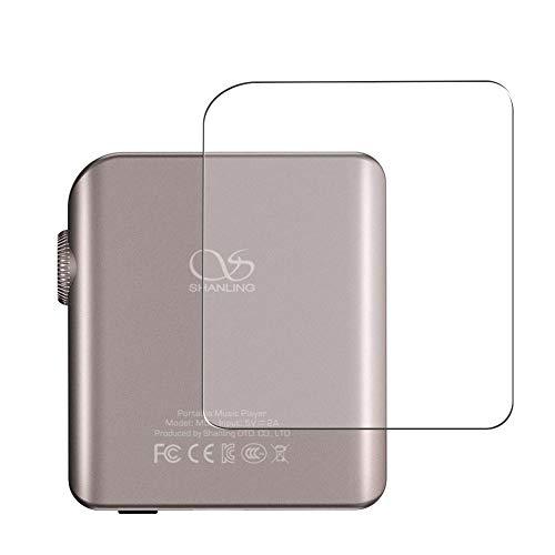 Vaxson 2 Unidades Protector de pantalla Posterior, compatible con SHANLING M0 [No Vidrio Templado] TPU Película Protectora Espalda Skin Cover
