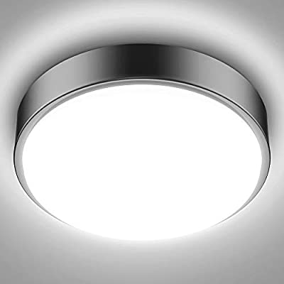 Olafus LED Ceiling Lights 32W 180W Equivalent 2800lm Ceiling Lighting Fixtures IP44 Waterproof for Closet, Kitchen, Bedroom, Bathroom
