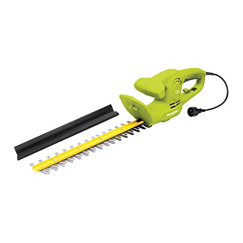 Sun Joe HJ15HTE 15-Inch 3.8-Amp Electric Hedge Trimmer, Green