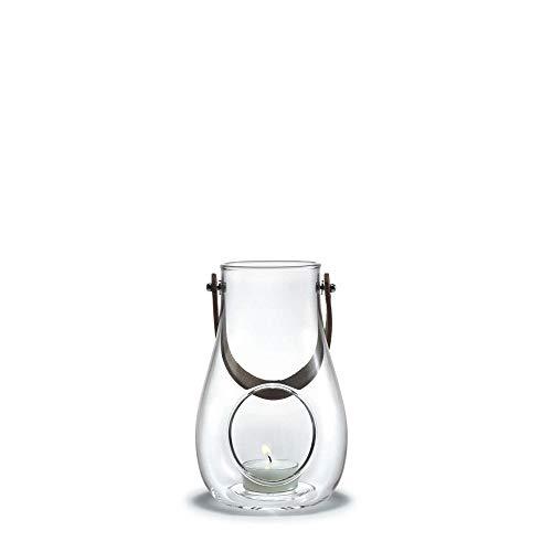 Holmegaard DWL Laterne, Glas, klar, 16 cm