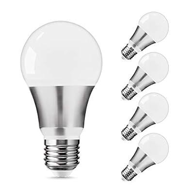 Emeritpro LED A19 Light Bulbs, LED Full Aluminu...