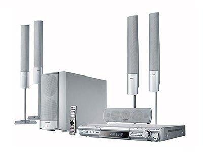 Panasonic SC HT 885 Heimkino-System Silber