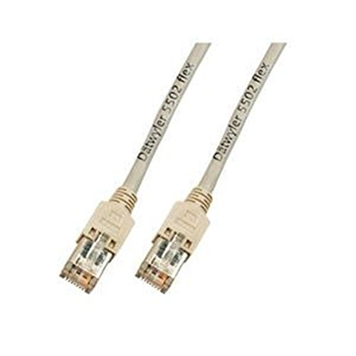 Patchkabel, Cat. 5e, S/UTP, 300 MHz, Dätwyler® UNINET Flex 5502 4P, Hirose TM11, grau, 2m