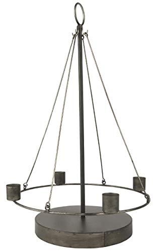 IB Laursen - Adventkerzenhalter schwebend - Metall - B25,5 x H43 x L25,5 cm