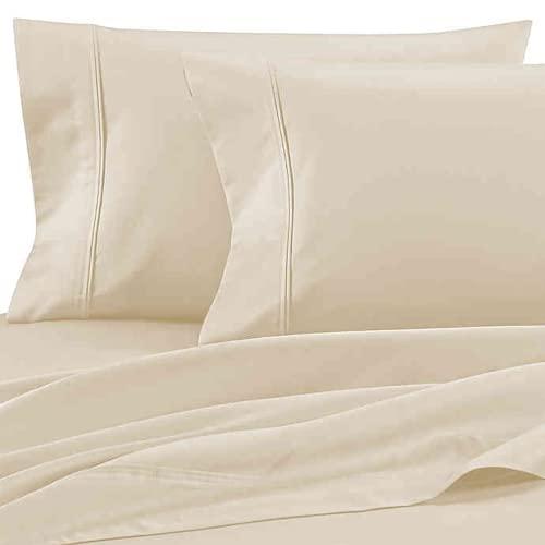 WAMSUTTA PimaCott Pillowcases (Ivory, King)