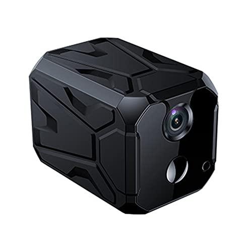 CHENPENG Mini cámara espía WiFi Hidden CAM 4K 1080P Cámaras de Seguridad para el hogar portátiles, con visión Nocturna automática/Alarma activada por Movimiento, para el hogar/Oficina