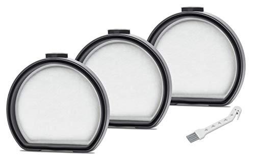 Supremery 3 filtros de repuesto para aspiradora AEG FX9 QX9, filtro premotor, alternativa al juego de filtros AEG AEF167