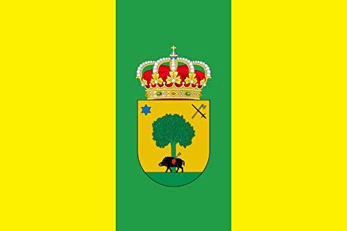 magFlags Bandera Large Villamiel de la Sierra Burgos | Bandera Paisaje | 1.35m² | 90x150cm