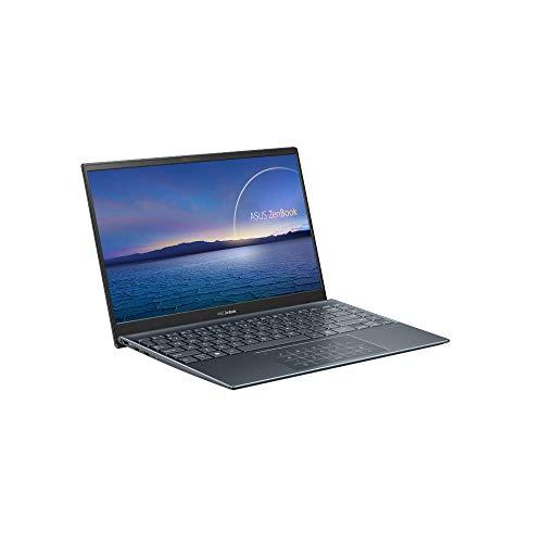 ASUS Computer ZenBook 14 UX425JA (90NB0QX1-M01600) 35,5 cm (14 Zoll, Full HD, IPS-Level, 400 nits, matt) Ultrabook (Intel Core i5-1035G1, Intel UHD Grafik, 8GB RAM, 512GB SSD, Windows 10) Pine Grey