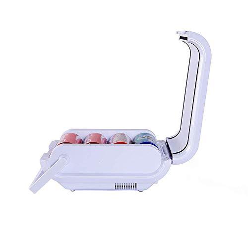 Nevera Coche, 3 litros 12V eléctrico portátil de Refrigeración/Calentador de Coches, Camiones, SUV, RV, acoplado en DC, Mini Nevera (Color, tamaño: 21 * 32 * 16 cm) de alimentación de CC Mini kshu