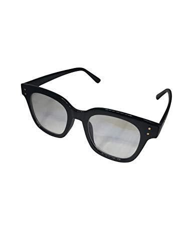 TEKISEI フレーム2パターン 整形後のまぶたを【隠す】ダウンタイム 特殊フレームメガネ プチ整形 二重手術 眉下切開等にも 2パターン+ブルーライトカットの反射 シンプル