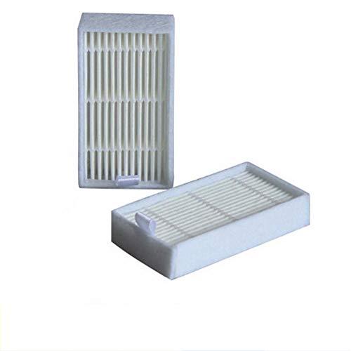 LanLan Filtro de aspiradora, Accesorios de aspiradora, Elemento filtrante HEPA para CHUWI Ilife V1 / V3 / V3 + / V5 / V5S Partes del Aspirador Ilife V5 Pro / X5 Robot de Barrido