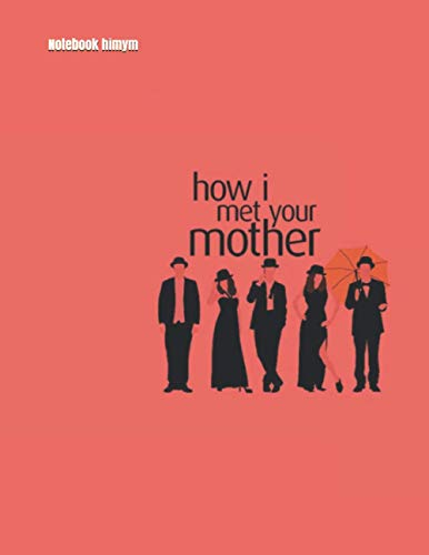 Notebook himym: quaderno a quadretti 5x5 mm How I Met Your Mother