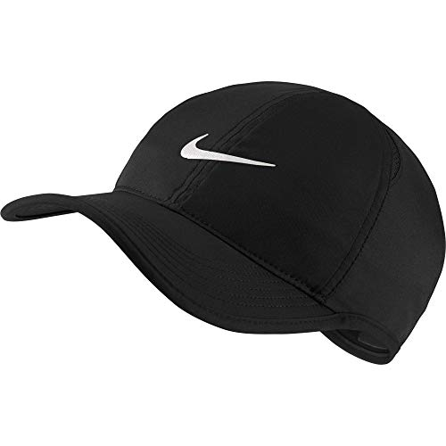 Nike AeroBill Featherlight Cap, Black/Black/White, One Size