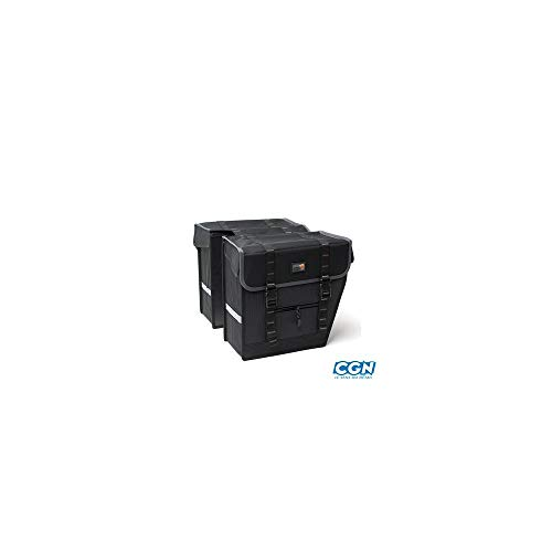 New Looxs Superior Maxi Basic bagagedragertas, zwart, 36 x 32 x 18 cm
