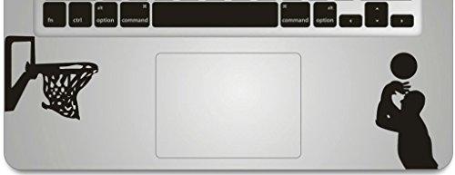 VATI Blätter Removable Playing Basketball Humor Teilhandmade Art Haut kühler Entwurf Vinylabziehbild Aufkleber für Trackpad Tastatur des Apple MacBook Pro Air Mac Laptop