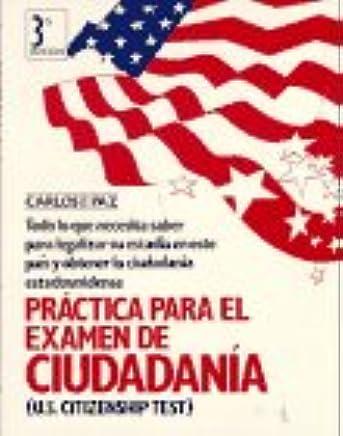 Práctica para el examen de ciudadanía