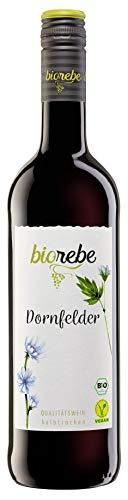 BIOrebe Dornfelder Rotwein Qualitätswein 2019/2020 (1 x 0.75 l)