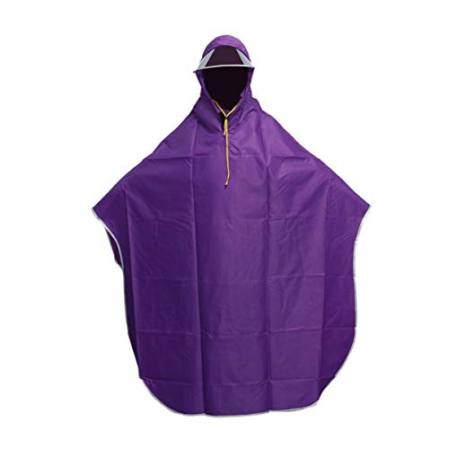 Abrigos impermeables poncho impermeable Chaqueta larga a prueba de lluvia Poncho Impermeable con capucha para mujer Cubierta de PVC Abrigo para la lluvia Sombrero Traje Cape Poncho Impermeable