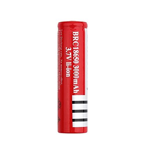 hsvgjsfa 3.7v 3000mah BRC 18650 Batería De Iones De Litio Superior Puntiaguda, Recargable para Mini Ventilador De Linterna 1pc
