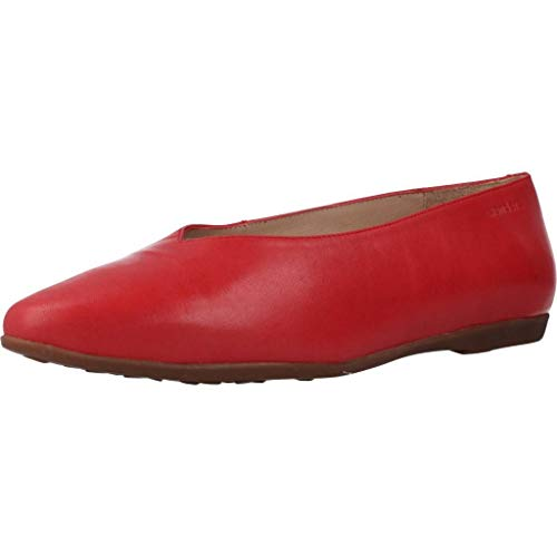 Wonders Mocasines Mujer A9901 para Mujer Rojo 37 EU