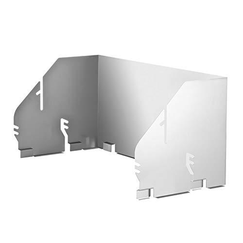 THÜROS Aufsatz-Windansteckblech für THÜROS T4 Grillfläche 40x60 cm