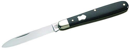 Hartkopf-Solingen Erwachsene Messer Taschenmesser Ebenholz Länge geöffnet: 14.4 cm, Grau, One size