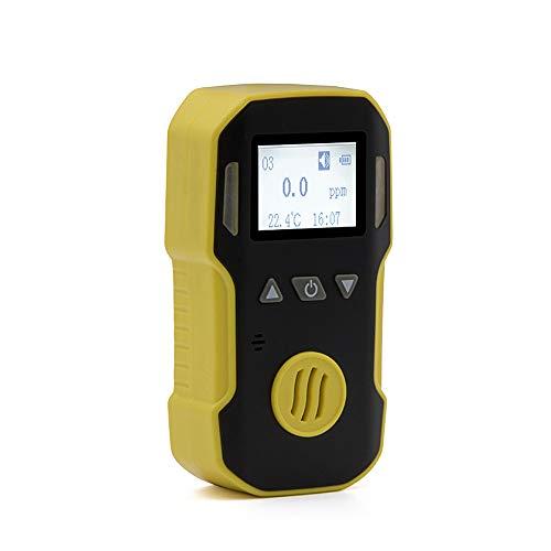 Kshzmoto Detector de ozono Detector portátil de Gases de ozono portátil O3 Concentración de ozono Detector de Fugas Residual Analizador Monitor con luz de Sonido Alarma de vibración