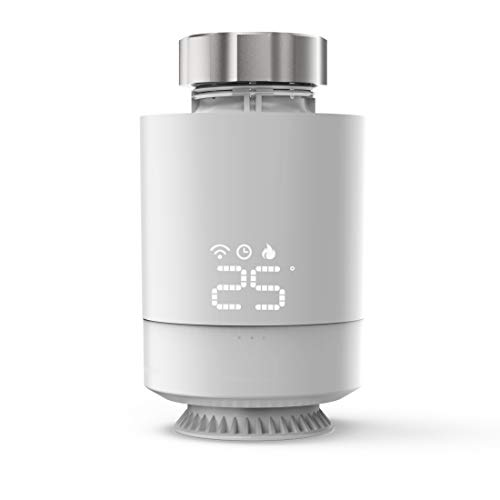 Hama Smartes Heizkörperthermostat, (erweiterbare Heizungssteuerung WLAN, Smart Home Heizungsregler für alle Ventile, programmierbarer Heizungsthermostat, individuell heizen per App u. Energie sparen)