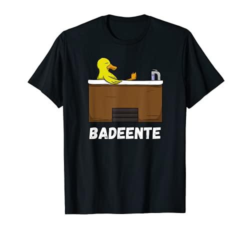 Enten TShirt Badeente Gummiente Quietscheente Bademeister T-Shirt