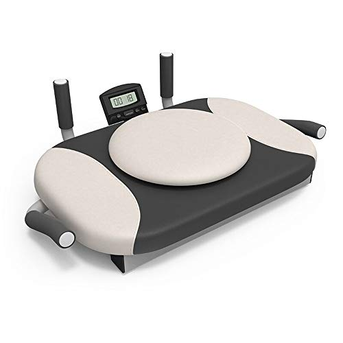 Battitachil Home Gym Gewichtheben Bank, 4 in 1 Bauchmuskeln Fitness Equipment Trägerplatte Device Haus Hip Training Assist (Color : White, Size : 64x44x20cm)
