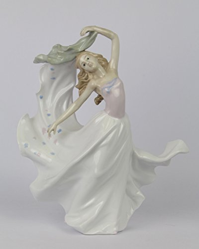 Porzellan Figur Tanz Tänzerin 36,4 cm