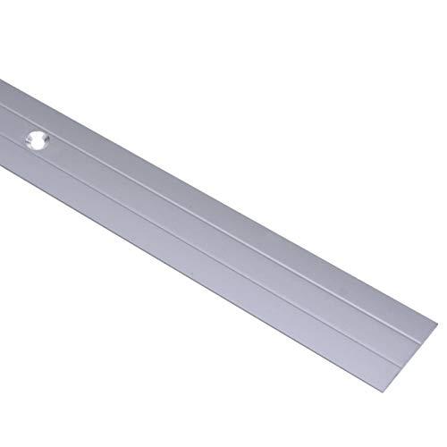Tidyard Übergangsprofil Übergangsleiste Abdeckleisten für Fußböden, Bodenleiste aus Aluminium, 5 Stück, 90/100 x 3,6 cm, Silbern/Braun/Golden