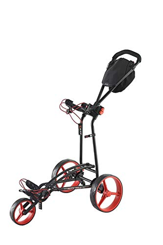 Big Max Autofold FF Push Carts USA (Black-Red)