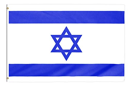 Star Cluster 90 x 150 cm Flagge Israels/Israel Fahne/דגל ישראל/Flag of Israel (Israel 90 x 150 cm)