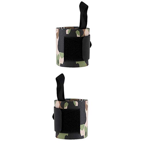 T TOOYFUL 2pcs Wrist Support Guard Für Yoga Gewichtheben Krafttraining Hand Brace