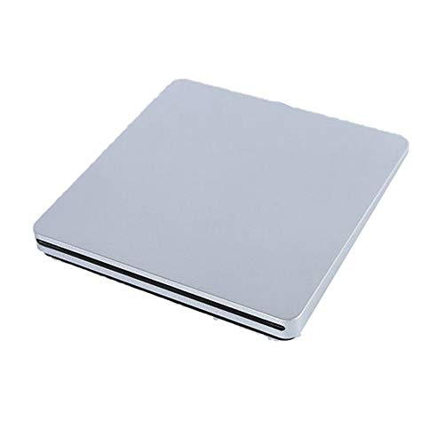 Computer schijfstation Type-C Externe DVD-brander Ultradunne Externe CD/DVD-speler optische drive for PC Laptop Windows (Color : Gray, Size : One size)