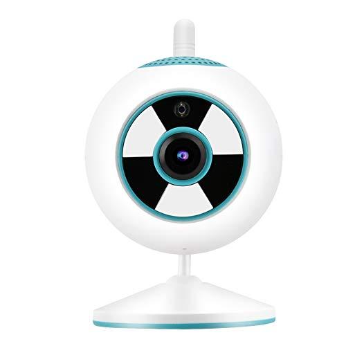 Yeelur Cámara WiFi, Mini cámara de Seguridad de Pantalla Clara y Duradera, cámara IP de Seguridad de vigilancia en el(Blue, European regulations)