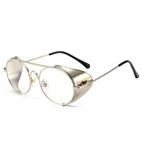 LETAM Gafas de sol Gafas de Sol de Calidad Hechas a Mano con protección Lateral Gafas de Sol Gafas de Sol